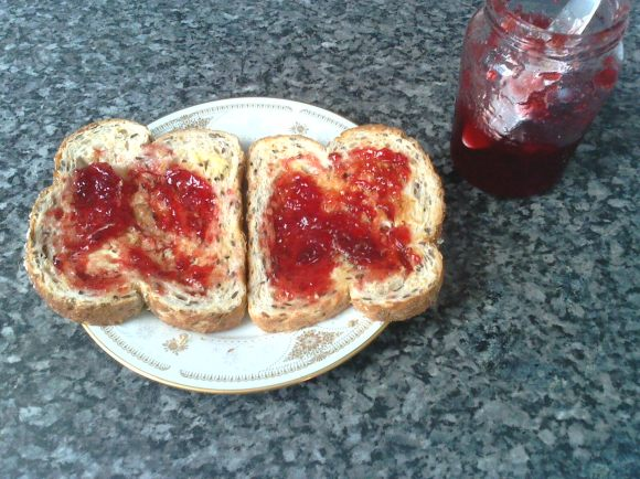 My first homemade jam